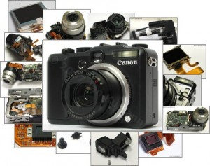 Ремонт цифровых фотоаппаратов в Санкт-Петербурге